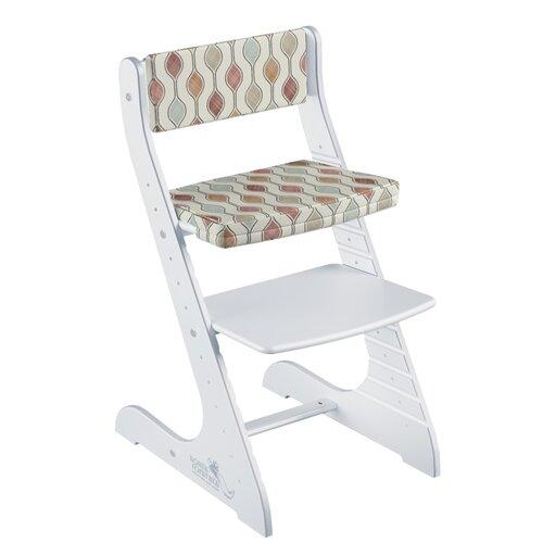 Фото - Комплект растущий стул и подушки Конёк Горбунёк СТАНДАРТ, цвет Белый/Капелька стульчики для кормления конёк горбунёк цветной однотонный