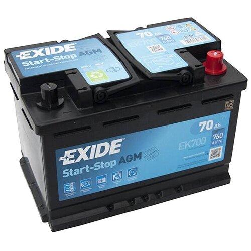 Автомобильный аккумулятор Exide Start-Stop AGM EK700