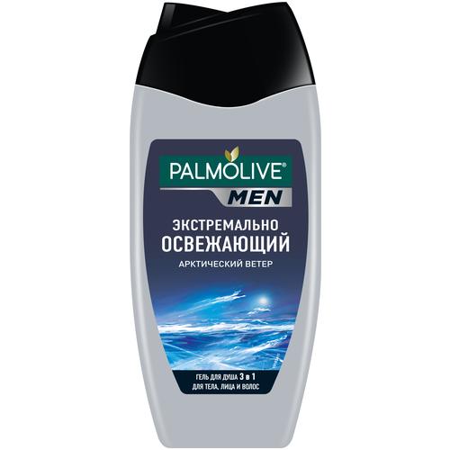 Фото - Гель для душа 3 в 1 Palmolive Men Арктический ветер, 250 мл гель для душа 4 в 1 palmolive men очищение и перезагрузка 250 мл