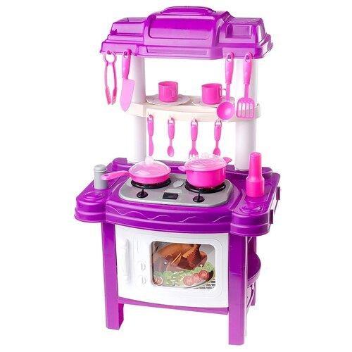 Купить Кухня kari BT543406-1 фиолетовый/розовый/белый, Детские кухни и бытовая техника