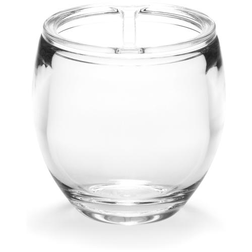 Фото - Стакан для зубных щеток Umbra Droplet, прозрачный стакан для зубных щеток touch 10х10х8 см серый 023271 918 umbra