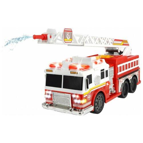 Фото - Пожарный автомобиль Dickie Toys 3308377, 36 см, красный/белый гидроцикл dickie toys пожарный сэм джуно с фигуркой и аксессуарами 9251662 красный желтый