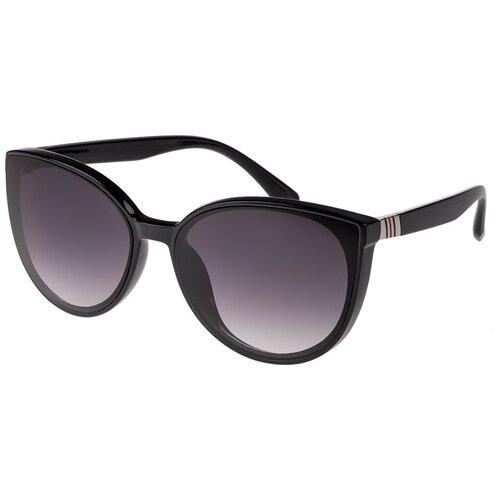 Солнцезащитные очки женские/Очки солнцезащитные женские/Солнечные очки женские/Очки солнечные женские/21kdgaer1202126-1c1vr черный/Vittorio Richi/Кошачий глаз/модные
