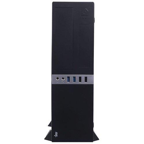 Настольный компьютер iRu Office 120 SFF (1488192) E1-6010/4 ГБ/60 ГБ SSD/AMD Radeon R2/Windows 10 Pro чеpный