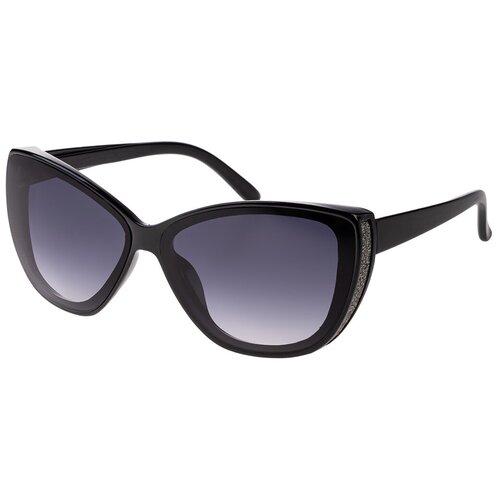 солнцезащитные очки Солнцезащитные очки женские/Очки солнцезащитные женские/Солнечные очки женские/Очки солнечные женские/21kdgara1303915c1vr черный,синий/Vittorio Richi/Кошачий глаз/модные