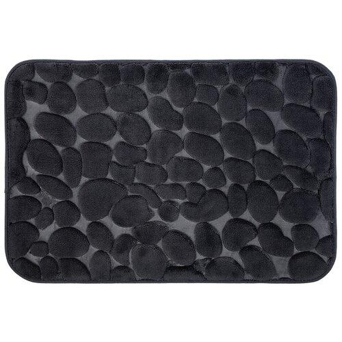 Коврик VORTEX Камушки 40х60 см серый коврик грязезащитный резиновый лапша vortex черно серый полосы 22408 40х60 см