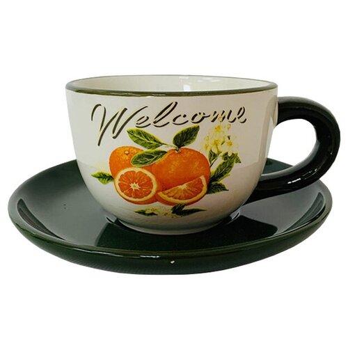Чайная пара Апельсиновая роща 220 мл