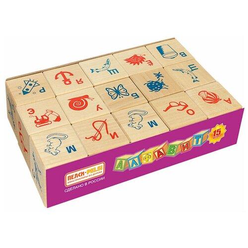 Кубики Теремок (Пелси) Алфавит и рисунок И675
