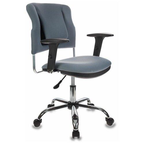 Компьютерное кресло Бюрократ CH-323AXSN офисное, обивка: текстиль, цвет: серый 26-25 недорого