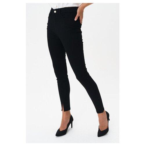 Брюки Vero Moda, размер 26, черный майка vero moda 10212778 размер xs черный