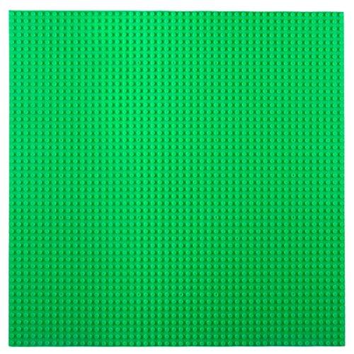 Купить Дополнительные детали Kazi Пластина-основание для конструктора 55004 40х40 см зеленая, Конструкторы