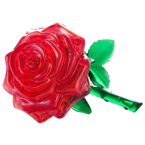 3D-пазл Crystal Puzzle Красная роза (90113), 44 дет., Пазлы  - купить со скидкой