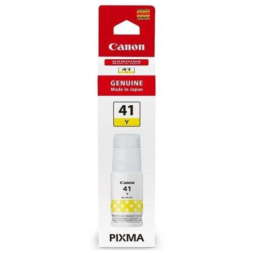 Фото - Картридж струйный Canon GI-41Y 4545C001 желтый (70мл) для Canon Pixma G34 60 картридж струйный canon gi 40 y 3402c001 желтый 70мл для canon pixma g5040 g6040