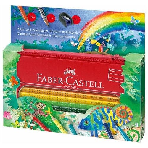 Faber-Castell Цветные карандаши Grip Jungle