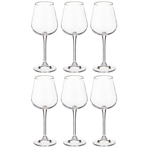 Фото - Набор бокалов CRYSTALITE для вина из 6 шт. amundsen/ardea 330 мл h = 22 см (669-177) набор бокалов первый мебельный набор бокалов для вина crystalite bohemia ardea amundsen 450мл 6 шт