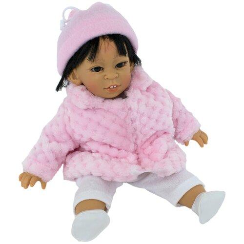 Кукла Lamagik Джестито девочка-азиатка в розовом пальто, 28 см, 10005