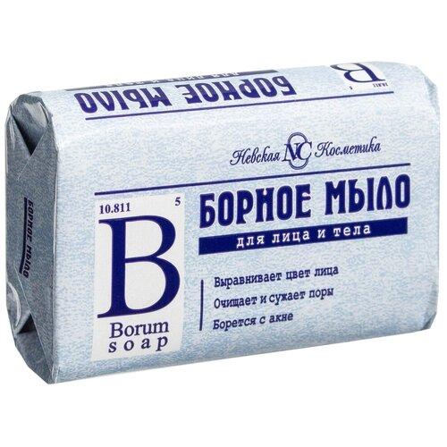 Мыло туалетное Невская Косметика Борное, 90 г