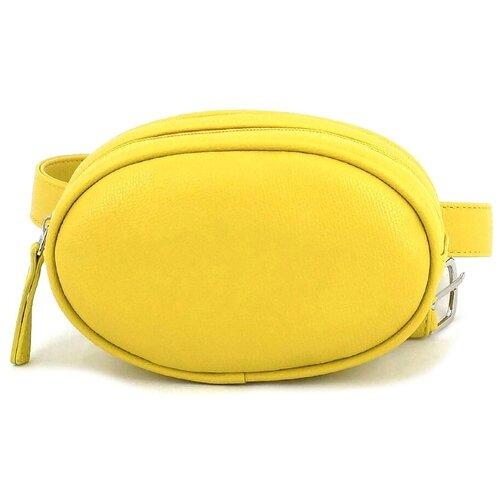 сумка на пояс женская dimanche регби цвет черный 231 1f Сумка женская на пояс Solo, 203-903