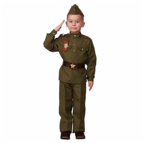 Купить Детский военный костюм солдата (8027), 158 см., Батик, Карнавальные костюмы