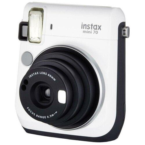 Фотоаппарат моментальной печати Fujifilm Instax Mini 70, white фотоаппарат fujifilm instax square sq6 ruby red