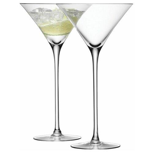 Фото - Набор из 2 бокалов для коктейлей Bar 275 мл набор бокалов для коктейлей sea life