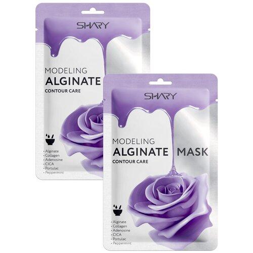 Shary Моделирующая альгинатная маска Контурная подтяжка, 28 г, 2 шт. shary альгинатная маска контурная подтяжка 28 г