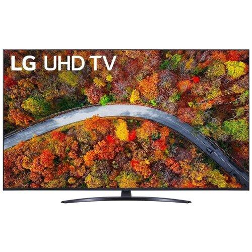 Фото - Телевизор LG 55UP81006LA 54.6 (2021), черный телевизор lg 70up75006lc 69 5 2021 черный