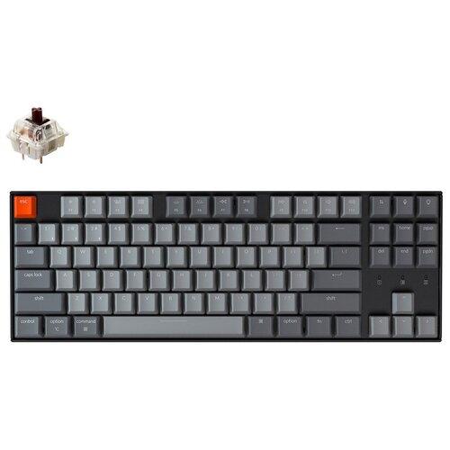 Механическая клавиатура Keychron K8 White Led (Gateron Brown)