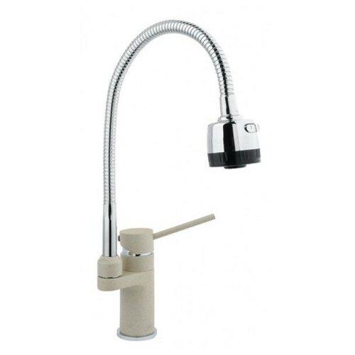 Смеситель для кухни (мойки) Timo 2308F granite однорычажный Sandy смеситель для кухни мойки timo 2303f granite однорычажный jasmine