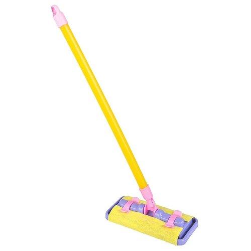 Щётка для уборки СТРОМ У801 желтый/фиолетовый