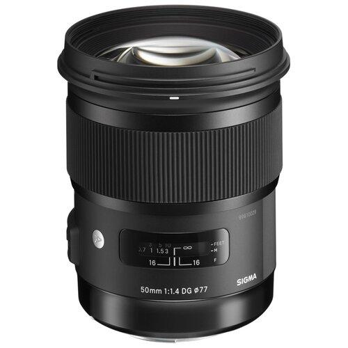 Фото - Объектив Sigma AF 50mm F/1.4 DG HSM Art L-Mount черный объектив sigma 35mm f 1 4 dg dn art l mount черный