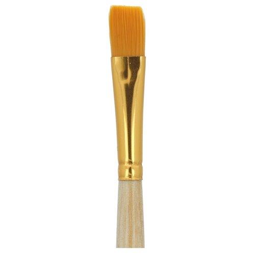 Купить Набор кистей Mr.Painter синтетика, плоские, 5 шт, короткая ручка, №10 (SBF 204-10), Mr. Painter, Кисти