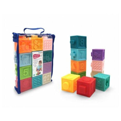 Кубики Elefantino Мягкие кубики IT106445