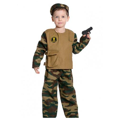 Купить Детский костюм 'Спецназ' с пистолетом, размер 128-134 см., КарнавалOFF, Карнавальные костюмы