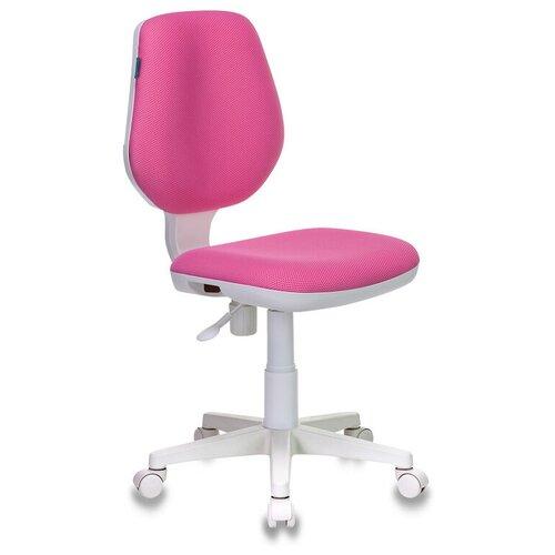 Компьютерное кресло Бюрократ CH-W213 детское, обивка: текстиль, цвет: розовый компьютерное кресло rifforma comfort 32 с чехлом детское обивка текстиль цвет розовый