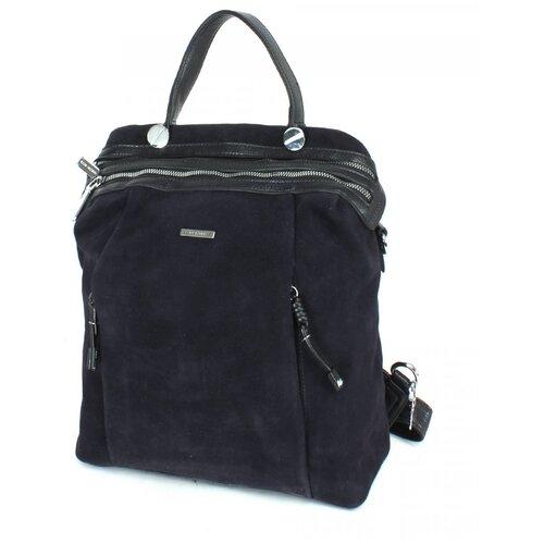 Женский рюкзак экокожа(искусственная кожа) + натуральная замша Velina Fabbiano 532021
