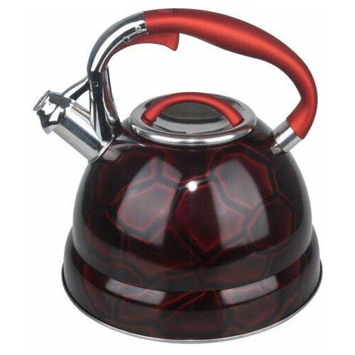 Winner Чайник WR-5011/WR-5012/WR-5013 3 л, бордовый чайник металлический winner 2 7 л wr 9204