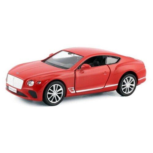 Легковой автомобиль RMZ City The Bentley Continental GT 2018 (554043) 1:32, красный