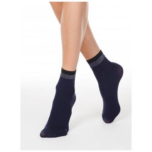Капроновые носки Conte Elegant Fantasy 19С-26/1СП, размер 23-25, marino
