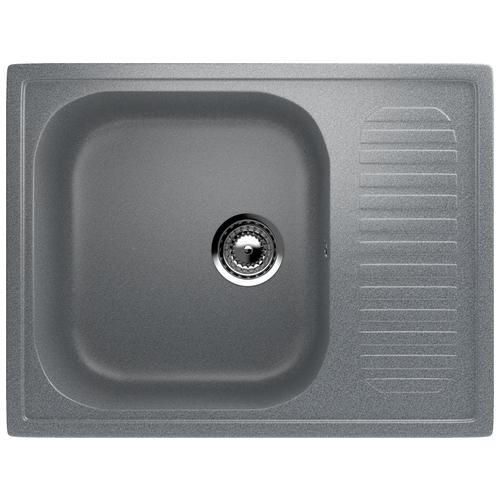 Фото - Врезная кухонная мойка 64 см EcoStone ES-18 309 темно-серый врезная кухонная мойка 103 см ecostone es 29 308 черный