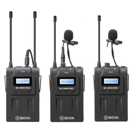 Радиосистема BOYA BY-WM8 Pro-K2 (2 трансмиттера + 1 ресивер)