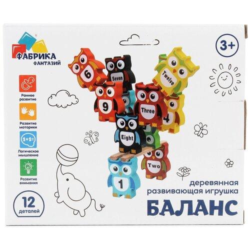 Настольная игра Фабрика Фантазий Баланс Совята недорого