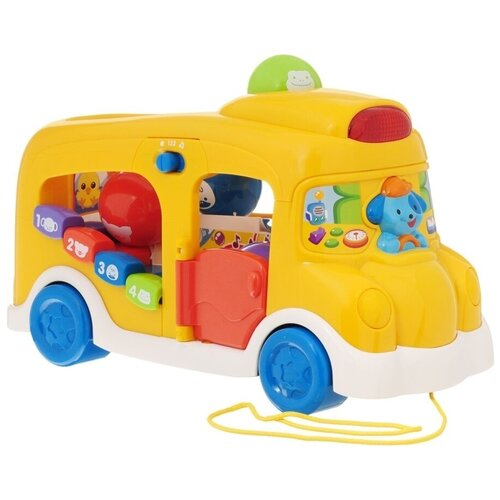 Интерактивная развивающая игрушка VTech Школьный автобус