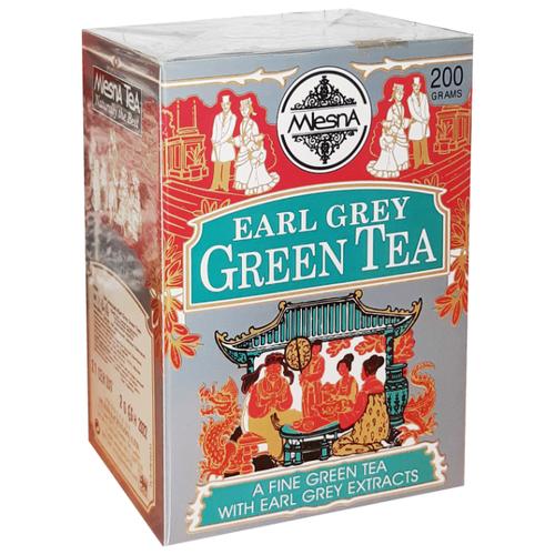 Фото - Чай зеленый «Earl Grey Green Tea» (Граф Грей) с ароматом бергамота листовой 200гр. чай grace чай черный с ароматом бергамота листовой граф грей 100 г