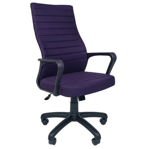 Компьютерное кресло Русские Кресла РК-165 для руководителя, обивка: текстиль, цвет: темно-синий