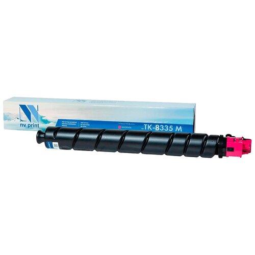 Фото - Картридж NV Print TK-8335 Magenta для Kyocera, совместимый картридж nv print kx fat410a для panasonic совместимый
