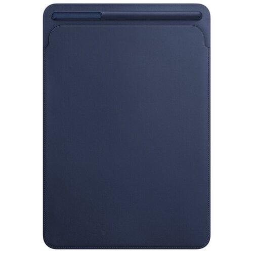 Фото - Чехол Apple Leather Sleeve для Apple iPad Pro 10.5 Midnight blue чехол для ipad pro 12 9 apple leather sleeve black