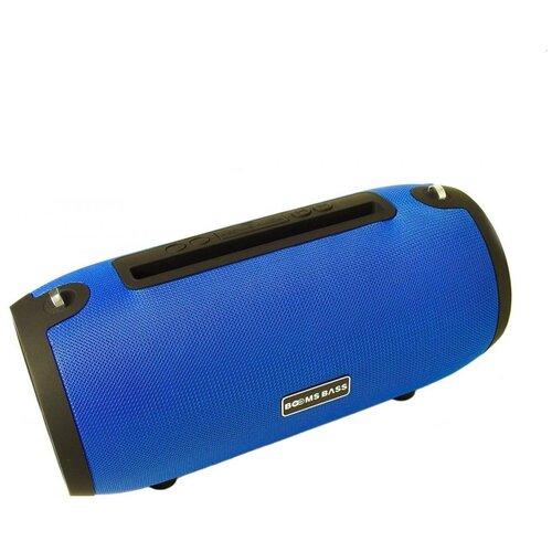 Беспроводная портативная bluetooth (блютуз) колонка Booms Bass L9 / Синий