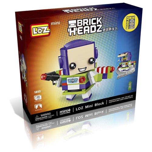 Фото - Конструктор LOZ BrickHeadz 1443 Базз Лайтер конструктор loz brickheadz 1451 винни пух