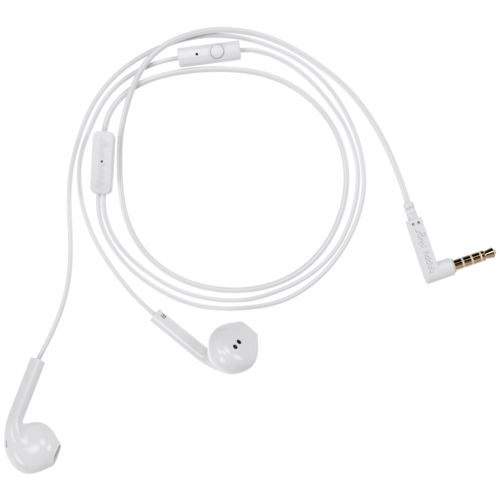 Наушники Happy Plugs Earbud Plus, white